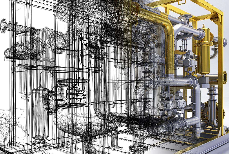 BIM engineer Pipe, heating, compressors, bim, convectors